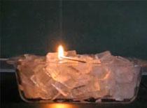 Jak zrobić płonący lód