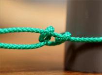 Jak wiązać węzeł sztykowy