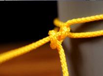 Jak wiązać węzeł żeglarski - cumę