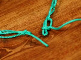 Jak wiązać węzeł skracający linę - sposób 2