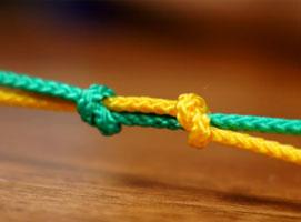 Jak łączyć dwie liny za pomocą węzła