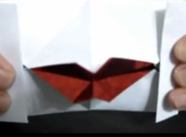 Jak zrobić walentynkowe usta origami