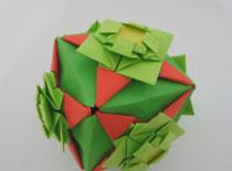 Jak zrobić ozdobny sześcian z kwiatami z papieru