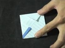 Jak złożyć list w kwadrat