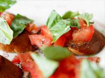 Jak przygotować smaczne pieczywo - Włoska Bruschetta
