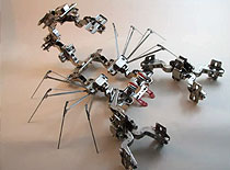 Jak zrobić skorpiona z zawiasów