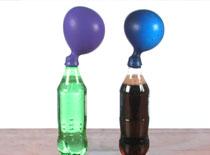 Jak napompować balon za pomocą strzelających gum