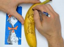 Jak zrobić tatuaż na bananie