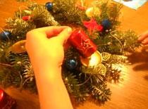 Jak zrobić świąteczny stroik (wieniec adwentowy)