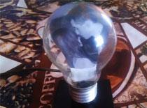 Jak zrobić prezent na walentynki - lampka ze zdjęciem