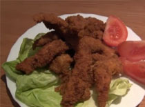 Jak zrobić czosnkowe paluszki z kurczaka
