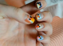 Jak pomalować paznokcie - sówki
