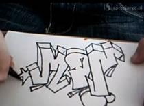 Jak namalować graffiti na kartce
