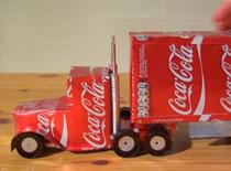 Jak zrobić ciężarówkę Coca Cola - schemat