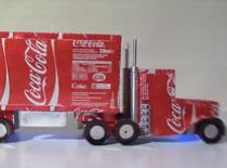 Jak zrobić ciężarówkę Coca Cola - wykonanie
