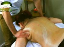 Jak zrobić masaż relaksacyjny karku i pleców świecą cz. 1