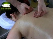 Jak zrobić masaż relaksacyjny karku i pleców świecą cz. 2