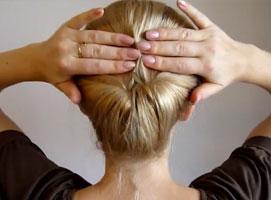 Jak zrobić koszyczek z włosów