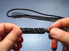 Jak zrobić breloczek do kluczy z linki