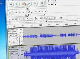 Jak połączyć dwa pliki audio z podkładem