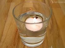 Jak zrobić świeczkę obracaną na parę wodną