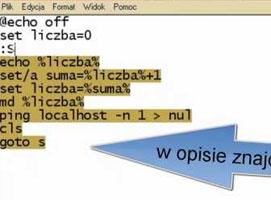 Jak zrobić wirusa robiącego 100+ folderów
