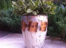 Jak zrobić wazon z dowlonym zdjęciem