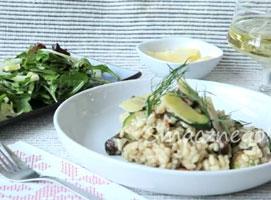 Jak zrobić risotto z cukinią i pieczarkami
