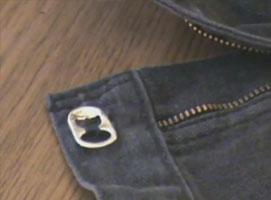 Jak zrobić awaryjny guzik do spodni