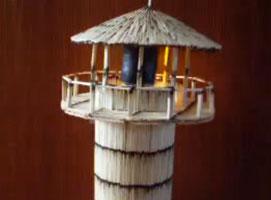 Jak zrobić latarnię morską z oświetleniem