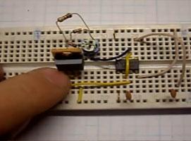 Jak zrobić regulator silnika pwm na NE555 (płytka stykowa)