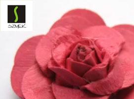 Jak zrobić różyczkę z dziurkacza w kształcie kwiatka