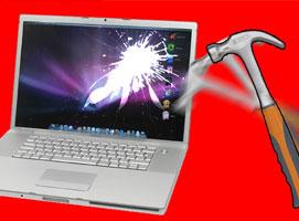 Jak wymienić rozbitą matrycę w Macbook Pro A1226
