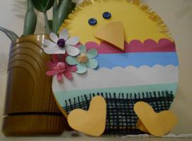Jak zrobić kartkę wielkanocną w kształcie kurczaka