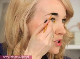 Jak zrobić makijaż z kolorowa kreską