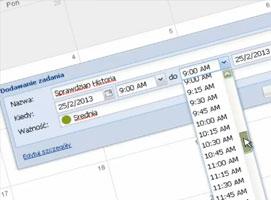 Jak korzystać z kalendarza online