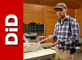 Jak wyciąć idealny, bardzo długi i wąski klin z drewna