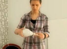 Jak zrobić lampę z prysznica