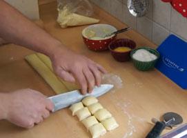 Jak zrobić ciasteczka francuskie z serem