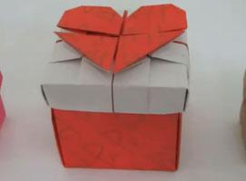 Jak złożyć pudełko z sercem