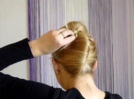 Jak zrobić fryzurę - kok banan