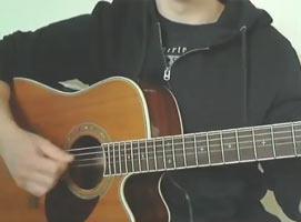"""Jak zagrać """"Czarny blues o czwartej nad ranem"""" - SDM na gitarze"""