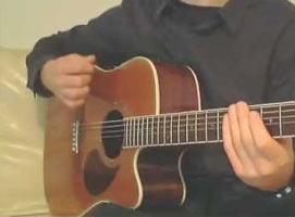 """Jak zagrać """"Peggy Brown"""" - Myslovitz na gitarze"""