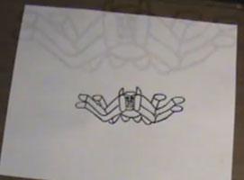 Jak rysować dwuznaczne obrazki - pająk