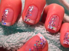Jak zrobić french manicure z lekkim zdobieniem
