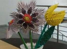 Jak wykonać tulipana - origami 3d