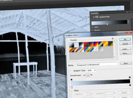 Jak korzystać z ukrytych gradientów tonowania w Photoshop CS6