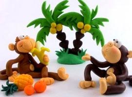 Jak zrobić małpkę z modeliny