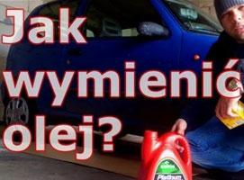 Jak wymienić olej w samochodzie - Fiat Seicento 900
