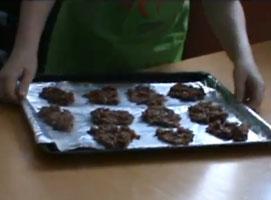 Jak zrobić ciastka czekoladowo śliwkowe